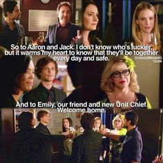 This was my favorite scene from the entire show💕💕💕 Criminal Minds Season 12, Criminal Minds Funny, Spencer Reid Criminal Minds, Criminal Minds Cast, Behavioral Analysis Unit, Crimal Minds, Paget Brewster, Matthew Gray Gubler, Best Shows Ever