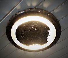 Deathstar, light, wood