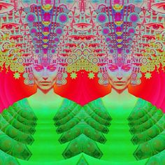 Stare into the void #trippy #art #psychedelic #symmetry