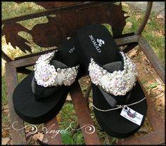 Cowgirl Jewelry and Custom Flip Flops