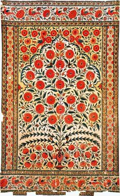 Decorative mughal tent pattern Paint+Pattern+Pinterest: A Peek into the world of Mughal Art and Architecture