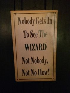 On the door at a restaurant called Charlie Browns The Good Witch, The Worst Witch, About Time Movie, All About Time, Wizard Of Oz Quotes, Cowardly Lion, Land Of Oz, Pop Culture References, Yellow Brick Road