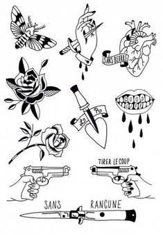 22 ideas tattoo sleeve drawings sketches black diy tattoo - diy tattoo images - diy tattoo ideas - d Flash Art Tattoos, Body Art Tattoos, New Tattoos, Sleeve Tattoos, Cool Tattoos, Tattoos Shops, Watch Tattoos, Hand Tattoos, Stencils Tatuagem