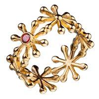 """Pohjantähti"" - ""Northern Star""  Kalevala Jewelry Ring"