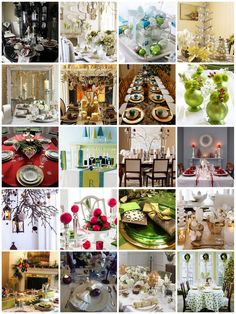 Christams TableDecorations - Christmas Decorating -