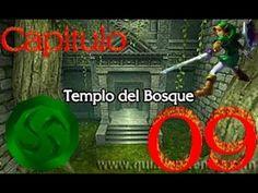 Zelda: Ocarina Of Time-Capitulo-09. Templo Del Bosque.(Parte 2)