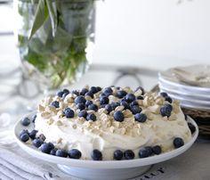 Franciskas Vakre Verden: Saftig kake med blåbær og pikekyss
