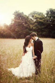 Outdoor Wedding Photography: The Bride and the Groom
