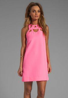 Machava Tech Twill Dress in Pink - Lyst