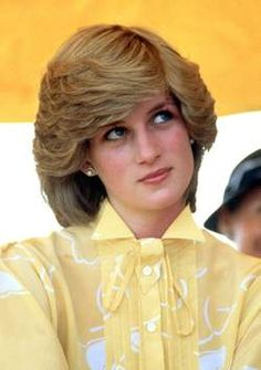 Lady Diana- That memorable hair style and unique look!!!Z
