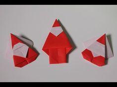 簡単折り紙 サンタクロース - YouTube