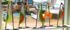 Glass art from Hundested Denmark.