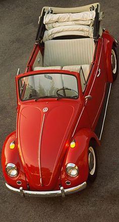 Red Beetle, Vw Cabrio, Vw Classic, Jack Daniels, Volkswagen, Automobile, Vehicles, Car, Girls