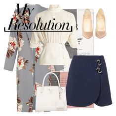 """""""#PolyPresents: New Year's Resolutions"""" by knownslovesun ❤ liked on Polyvore featuring Emilia Wickstead, Christian Louboutin, TIBI, contestentry and polyPresents"""