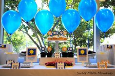 Preschool graduation table - yes, it's time of year again!