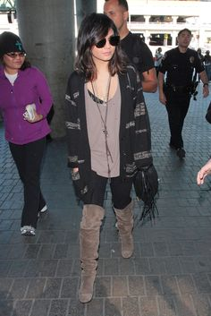 Vanessa Hudgens - Vanessa Hudgens at LAX