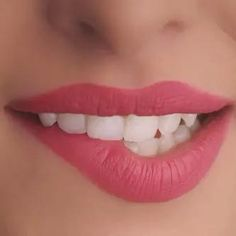 Dental Implants New York City: Low cost dentist NYC Beauty Makeup, Hair Makeup, Hair Beauty, Makeup Tips, Roses Tumblr, Lip Biting, Beautiful Lips, Lip Art, Pink Lips