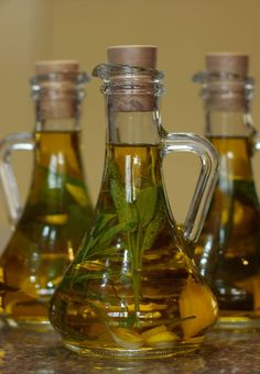 Herb-infused olive oil