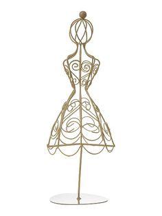 Colgador de pendientes maniqu proyecto joyeros y porta joyas pinterest pendientes joyero - Colgadores de pendientes ...