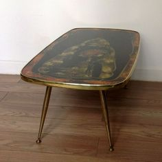 Table basse Verre 70s