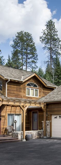 Ply Gem is the exterior home building products manufacturer in North America. Browse our vast selection of residential building products. Cedar Roof, Cedar Shakes, Residential Roofing, Roofing Shingles, Rustic Homes, Building A House, Exterior, Fire, Cabin