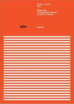 Stunning Posters Celebrate Dieter Rams' 1960s Design For Braun - DesignTAXI.com