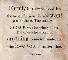 difference between family and relatives