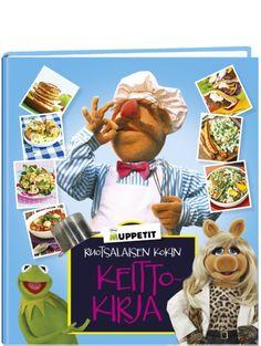 Muppetit: Ruotsalaisen kokin keittokirjassa on repäiseviä reseptejä ja hauskaa herkuttelua!  Ruotsalaisen kokin keittiössä riittää vauhtia ja villejä tilanteita, mutta siellä valmistuu myös maukasta murkinaa koko Muppets-porukan vaateliaisiin vatsoihin – showtyö näet vaatii laadukkaat ja riittoisat eväät. Tästä kahjosta keittokirjasta löydät Kermit-sammakon, Miss Piggyn, Fozzie-karhun ja muiden hupaisten muppetien suosikkireseptit. Baseball Cards, Movies, Movie Posters, Art, Art Background, Film Poster, Films, Popcorn Posters, Kunst