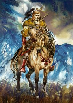 "Attila ""The Hun"" Scourge of God - Leader of the Hunnic Empire - 32nd great grandfather"