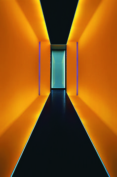 corridor // ceiling // lighting // James Turrel