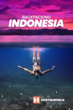 Backpacking Indonesia Pinterest