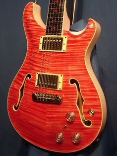 Paul Reed Smith Private Stock Hollowbody - Bonnie Pink