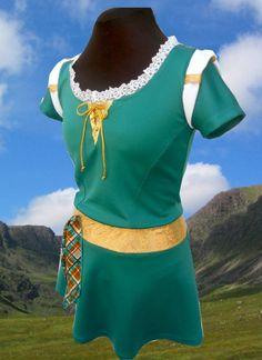 Merida Running Outfit Princess Marathon 2015