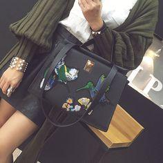 Cheap bag ladies, Buy Quality brand tote bag directly from China designer tote bag Suppliers: designer Brand Leather bolsas femininas Women bag ladies Design of Chinese style embroidery Handbag Shoulder Bag Female Tote Bag
