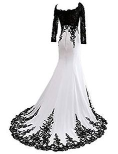 Ever Girl Womens Mermaid Long Evening Gowns Lace Prom Dresses With Sleeves White *** Details can be found by clicking on the image-affiliate link. just in a different color Prom Dresses With Sleeves, Homecoming Dresses, Beautiful Gowns, Beautiful Outfits, Lace Evening Gowns, Fantasy Dress, Dream Dress, Pretty Dresses, Designer Dresses