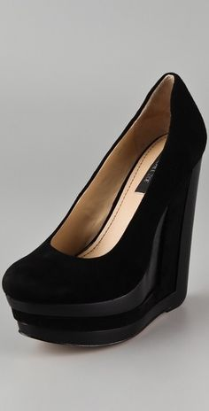 Rachel Zoe Eva Platform Wedge Pumps - StyleSays
