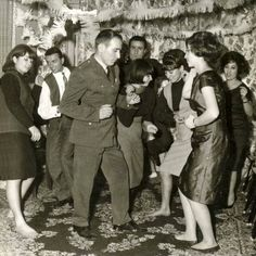 twisting or what?! pretty sure they were having a great time. 50s or 60s.Iran.