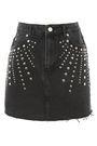 MOTO Studded Denim Mini Skirt - New In Fashion - New In - Topshop