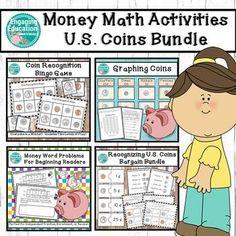 Money Math Activities U. Teaching Materials, Teaching Tools, Creative Teaching, Math Activities, Teaching Resources, Classroom Resources, Teaching Ideas, 2nd Grade Centers, 3rd Grade Classroom
