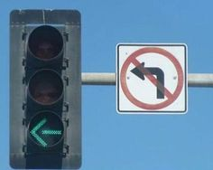 You Had One Job ~ left turn no left turn signals... I'm so confused