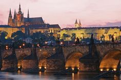 One of the prettiest places I've visited. So antique & so much history there. Prague, Czech Republic