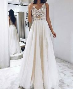 Appliques A Line Prom Dress, Sexy Tulle Evening Party Dress Sharon Bridal A Line Prom Dresses, Long Wedding Dresses, Princess Wedding Dresses, Elegant Wedding Dress, Formal Dresses, Quinceanera Dresses, Ball Dresses, Long Dresses, Pretty Dresses