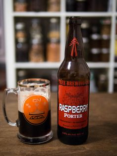 Craft Beer Week: Raspberry Porter by Tree Brewing Company | WellPreserved.ca