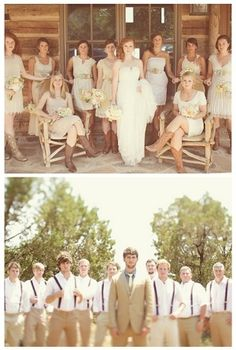 I'M IN LOVE <3 except i want the bridesmaids to all wear the same dress ;)
