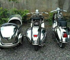 Oh so shiny! Scooters Vespa, Piaggio Scooter, Vespa Motorcycle, Vespa Bike, Motor Scooters, Scooter Scooter, Retro Scooter, Best Scooter, Lml Star