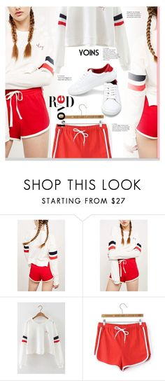 """yoins 4"" by meyli-meyli ❤ liked on Polyvore featuring sporty, yoins, yoinscollection and loveyoins"