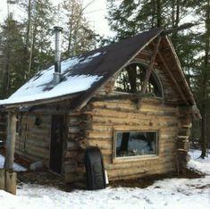 small log cabin - Tiny House Talk