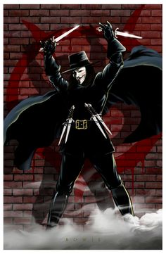 V All art is owned and copyrighted by Damon Bowie and Intense Yellow Productions. Comic Book Characters, Comic Character, V For Vendeta, The Fifth Of November, Guy Fawkes, Nerd, Damon, Dc Universe, Comic Art