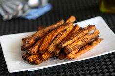 These DIY Sweet Potato Fries are super easy and as spicy as you wanna make 'em.