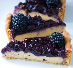 Vegan Blackberry Pie